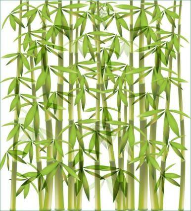 free vector Bamboo background 01 vector