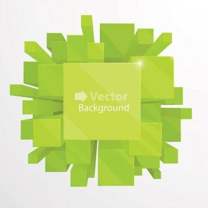 free vector Beautiful background vector 2 cube
