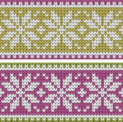 Sweater texture vector background 1