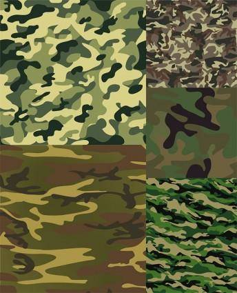 free vector Camouflage background vector