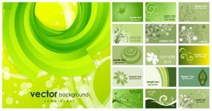 Variety of useful background vector