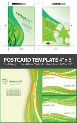 Green packaging u0026amp background vector