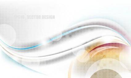 free vector Flow lines and elegant background 03 vector