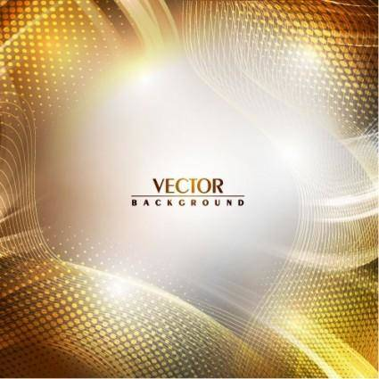 free vector Gorgeous bright halo background 04 vector