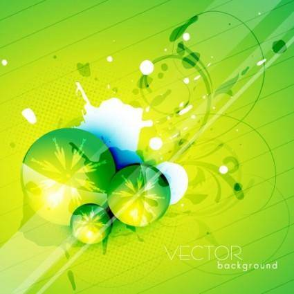 free vector Green textured background 05 vector