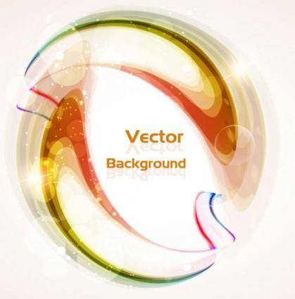 Beautiful colorful halo background 03 vector