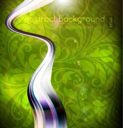 Dynamic luxury background 03 vector