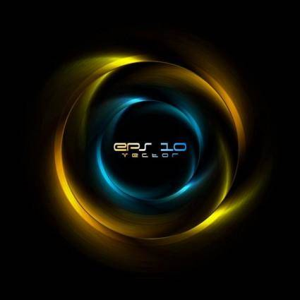 Brilliant halo background 01 vector