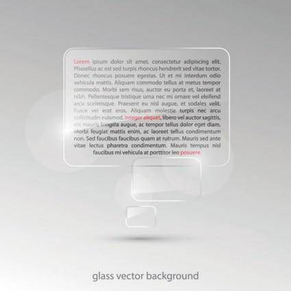 free vector Vector glass effect