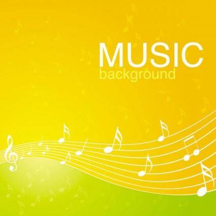 free vector Vibrant music background pattern 04 vector