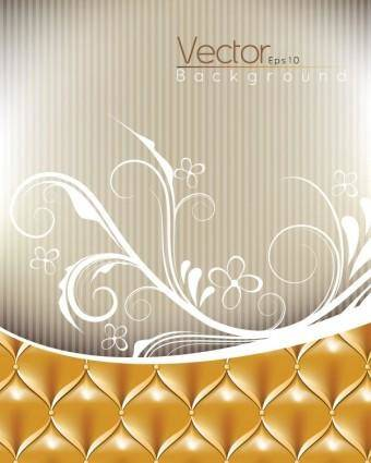 free vector Background pattern vector pattern sofa
