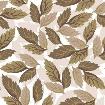 Beautiful leaves background vector