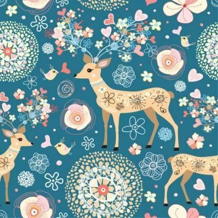 free vector Elegant pattern illustration background 03 vector