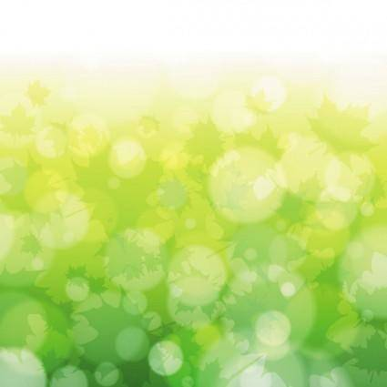 Green natural blur the background 06 vector