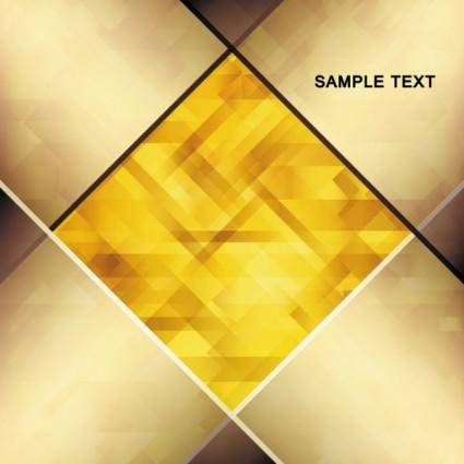 Brilliant gold background 04 vector