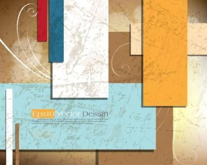free vector Gorgeous threedimensional dynamic background 04 vector