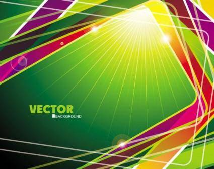 free vector Gorgeous threedimensional dynamic background 05 vector