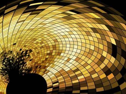 free vector Dynamic trend of the mosaic background 01 vector