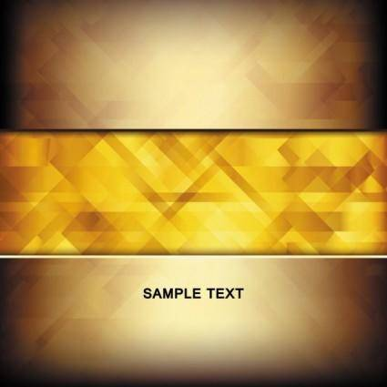 free vector Brilliant gold background 01 vector
