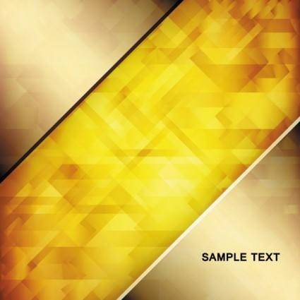 free vector Brilliant gold background 02 vector
