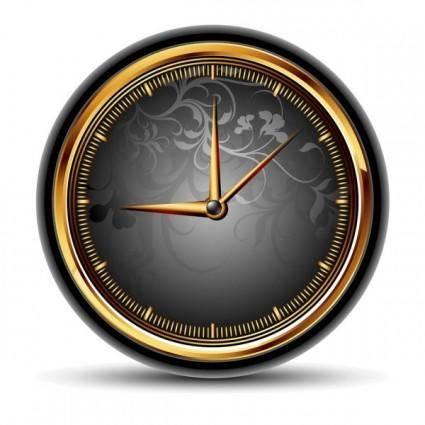 free vector Exquisite watches creative background 04 vector