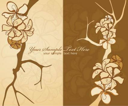 Classic pattern background 01 vector