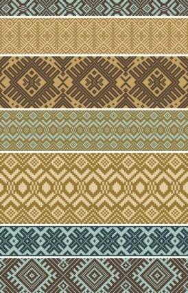 free vector Sweater texture vector background 3