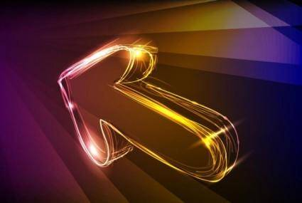 free vector Discount gorgeous neon background 04 vector