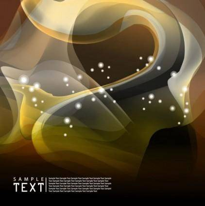 free vector Particularly unusual dynamic flow line background 05 vector