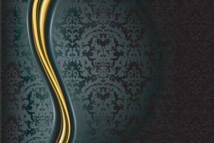 free vector Ornate background pattern 01 vector
