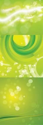 free vector Dream green background vector