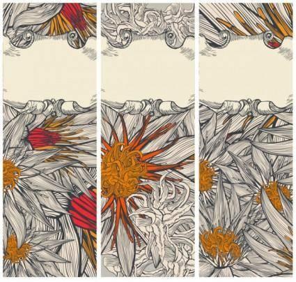 free vector Handpainted daisy vector
