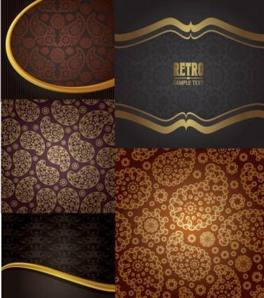 Special background pattern vector