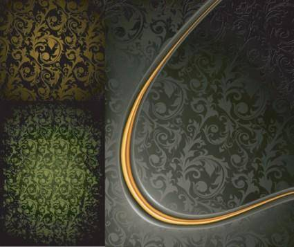 Europeanstyle elegance gyrosigma vector background
