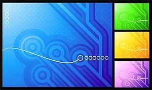 free vector Hightech style vector background