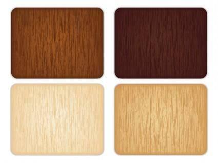 4 color wood grain background vector