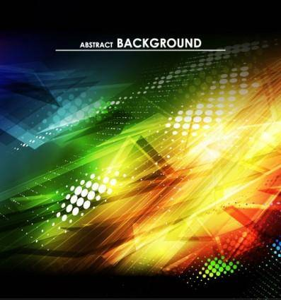 free vector Gorgeous bright halo background 01 vector