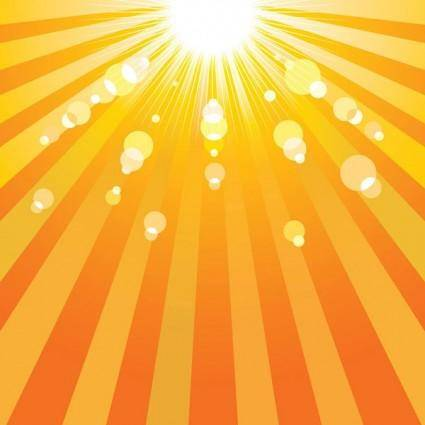 Sun sun background vector 2