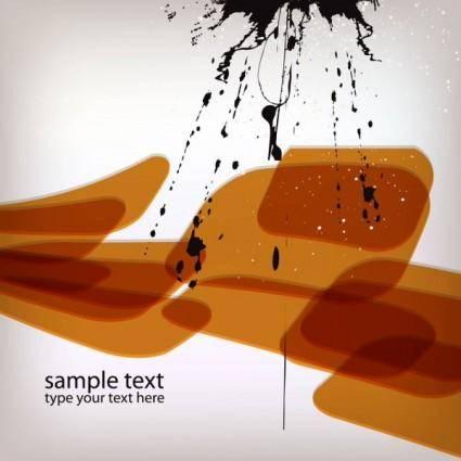 free vector Ink splash background 03 vector