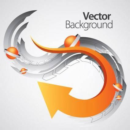 free vector Vector dynamic background 2 arrow