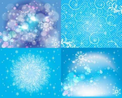 Bright stars background 02 vector
