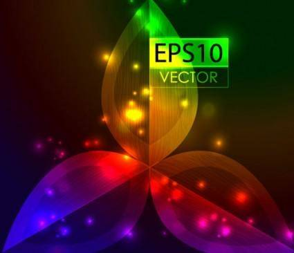 free vector Bright beautiful background 05 vector
