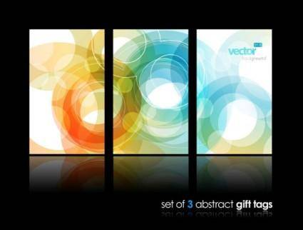 free vector Dynamic patterns brilliant background 02 vector