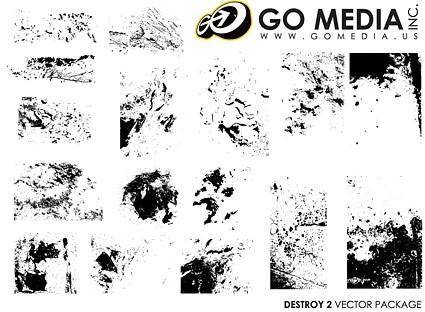 Go media produced vector texture