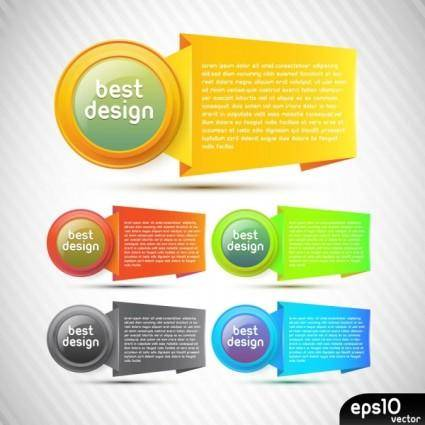 free vector Colorful origami background 03 vector
