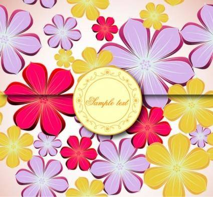 Fine background pattern 01 vector