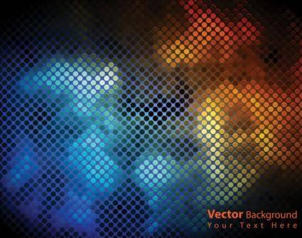free vector Dynamic brilliant color background 05 vector
