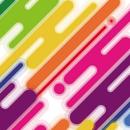 Colorful paint background 02 vector