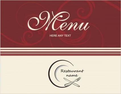 Western menu background 03 vector