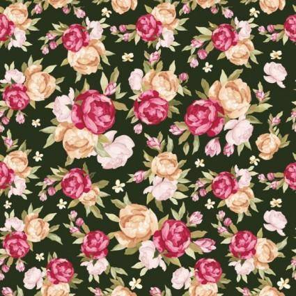 Beautiful pattern background 04 vector 17466